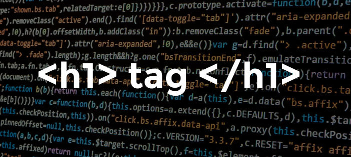 Importance of h1 tag